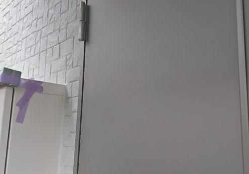 川崎市 玄関扉のヘコミ傷補修 リペア